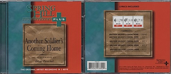 Monthly Special - Another Soldier's Coming Home Perf Track<br>  $4.99